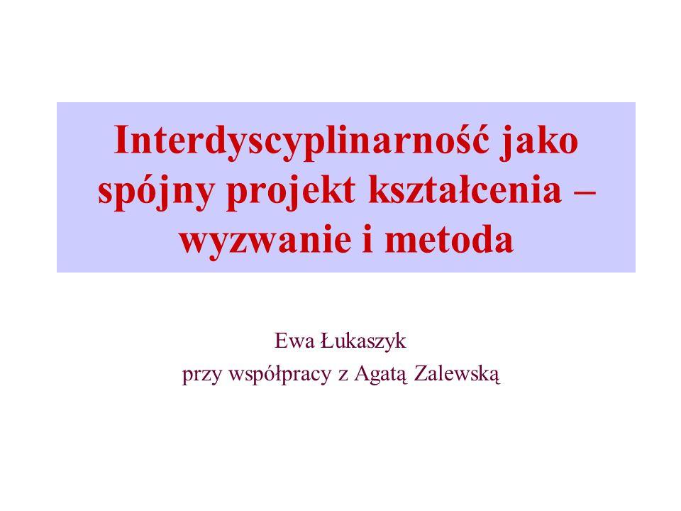 Ewa Łukaszyk przy współpracy z Agatą Zalewską