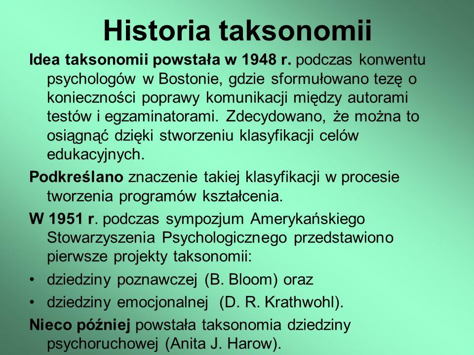 Historia taksonomii