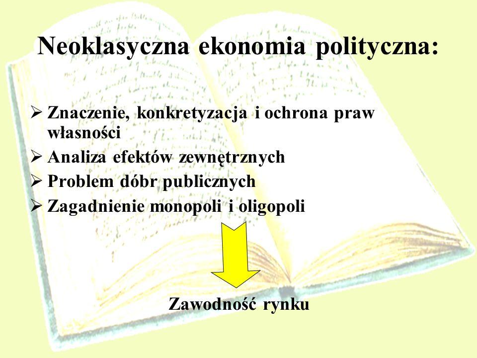 Neoklasyczna ekonomia polityczna: