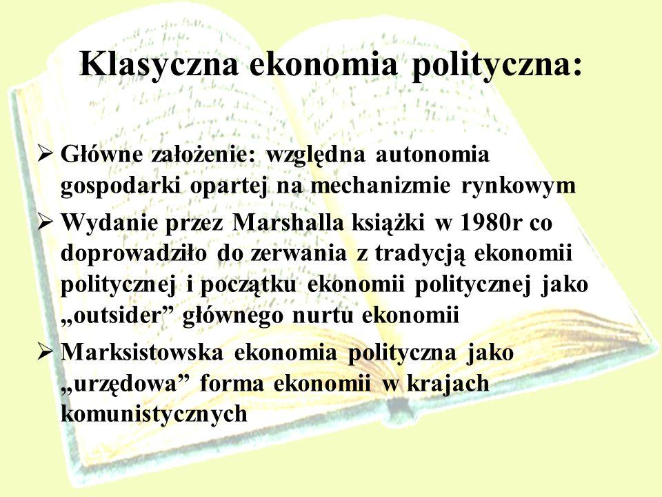 Klasyczna ekonomia polityczna: