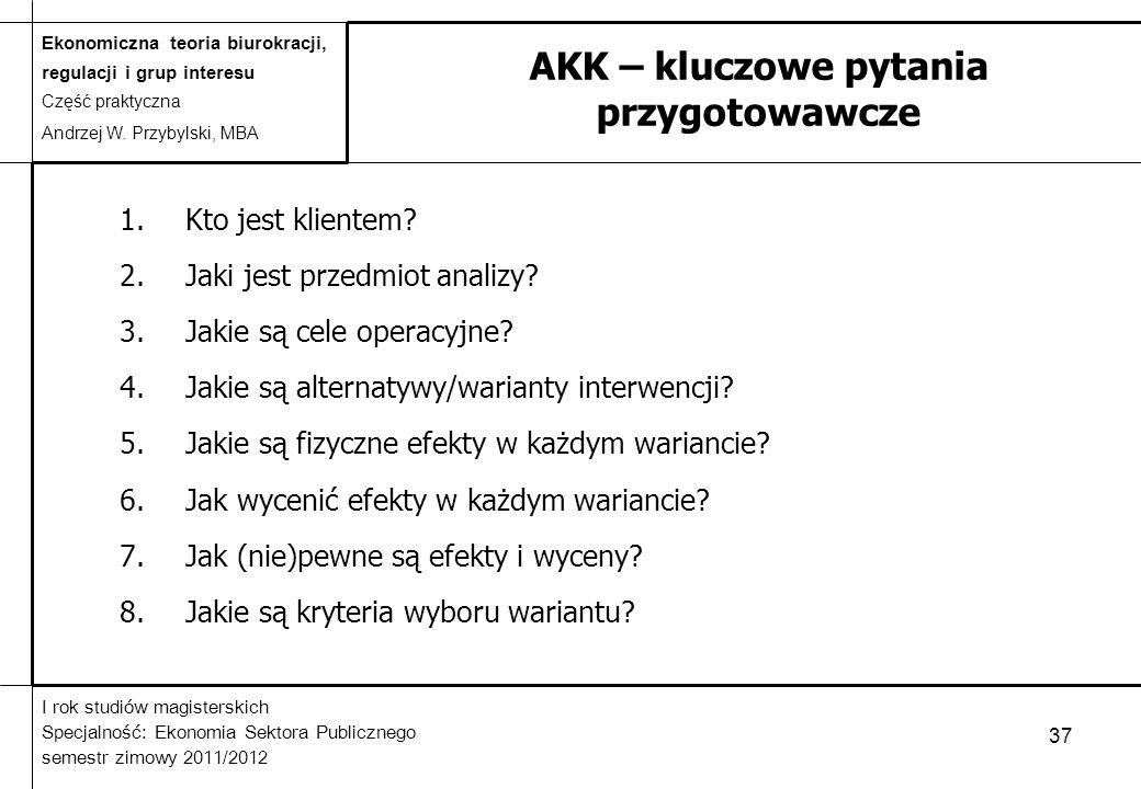 AKK – kluczowe pytania przygotowawcze