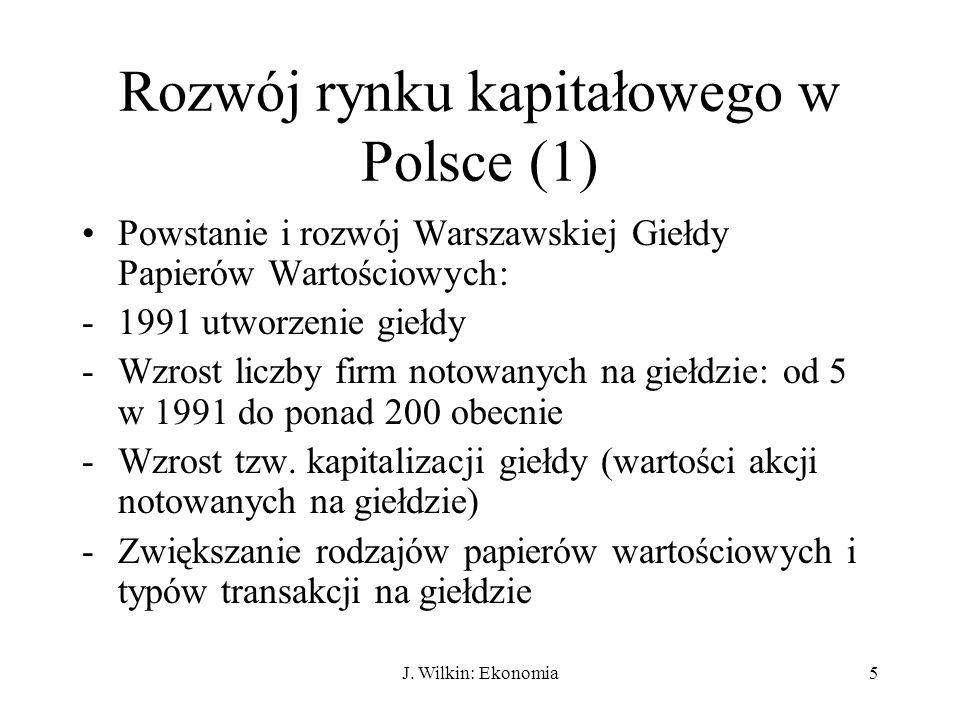 Rozwój rynku kapitałowego w Polsce (1)