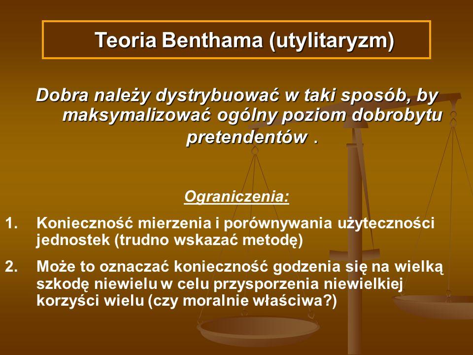 Teoria Benthama (utylitaryzm)