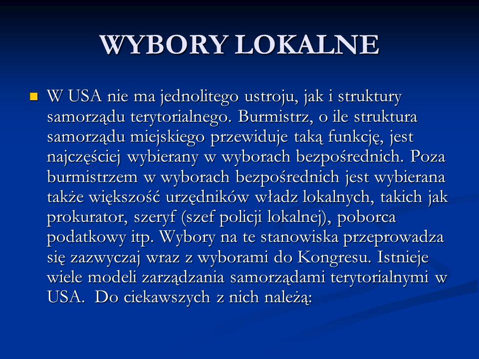 WYBORY LOKALNE