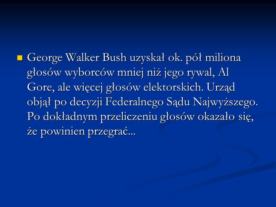 George Walker Bush uzyskał ok