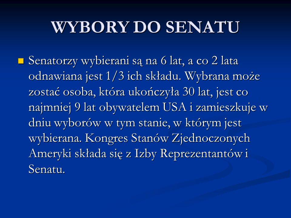 WYBORY DO SENATU