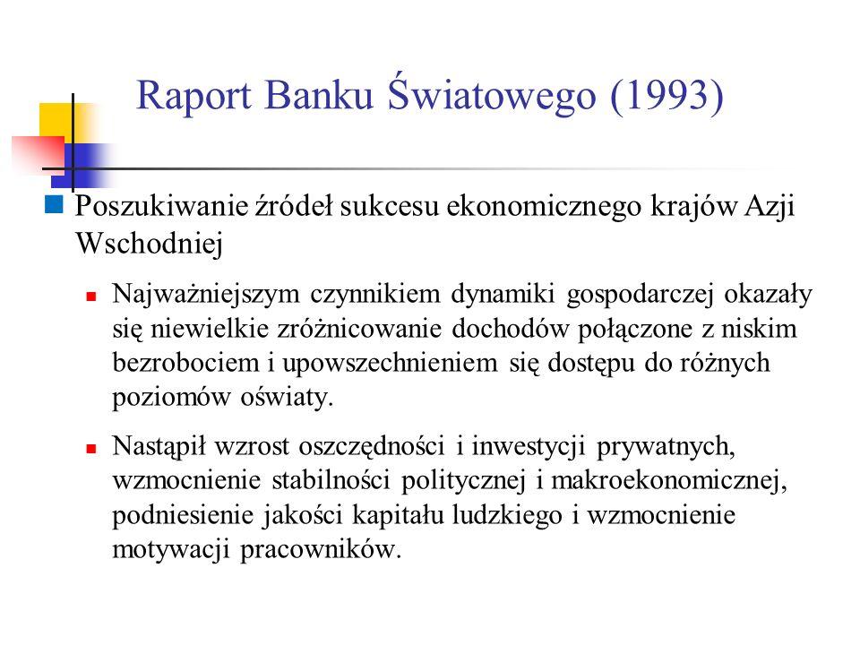 Raport Banku Światowego (1993)