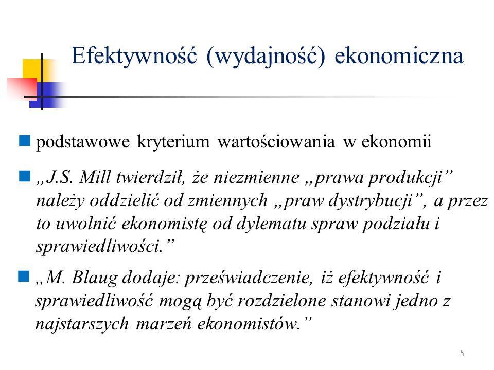 Efektywność (wydajność) ekonomiczna