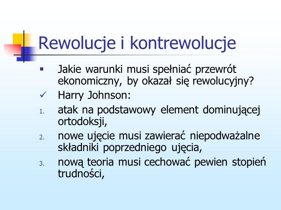 Rewolucje i kontrewolucje