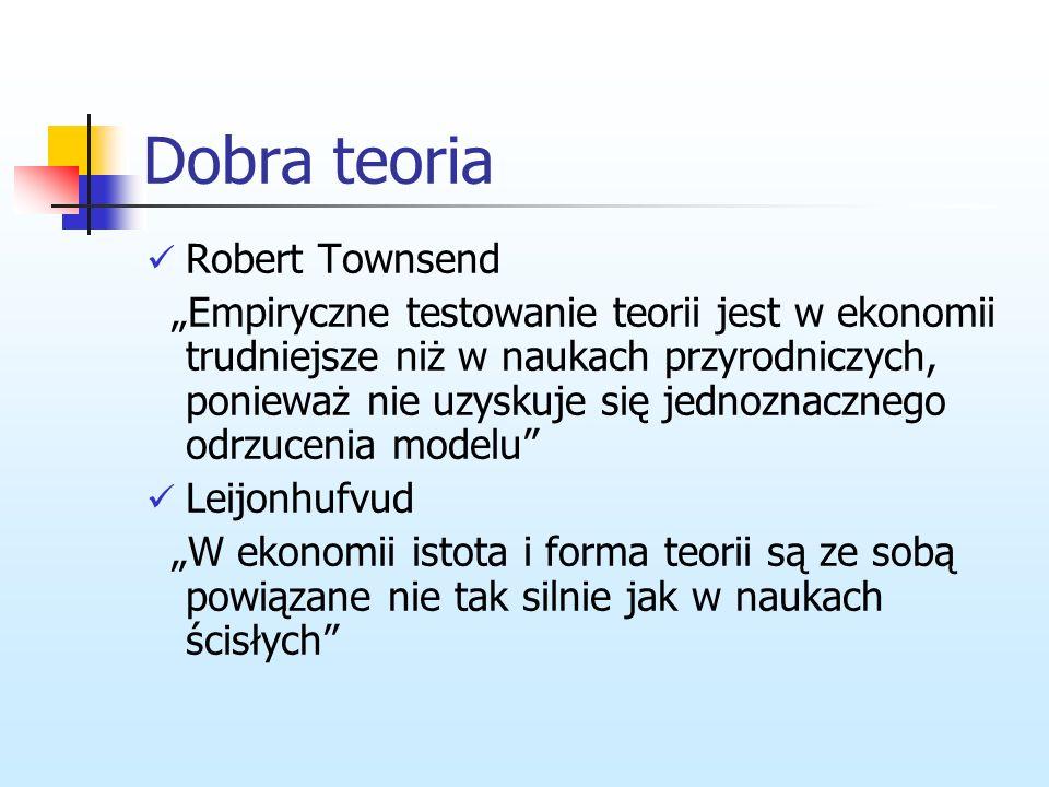 Dobra teoria Robert Townsend