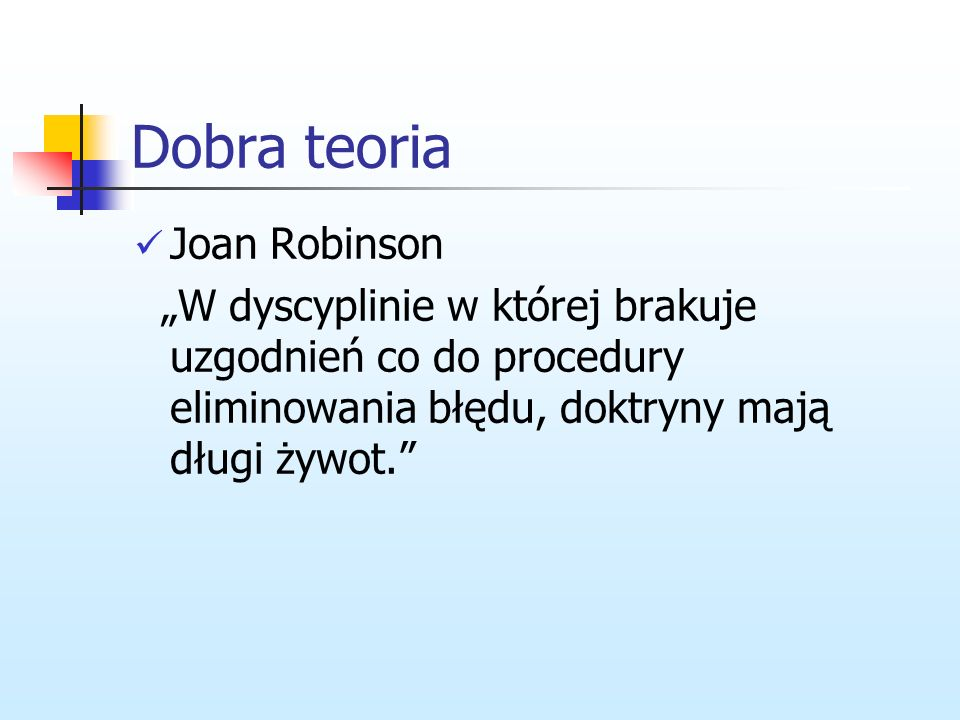 Dobra teoria Joan Robinson