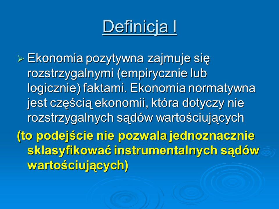 Definicja I