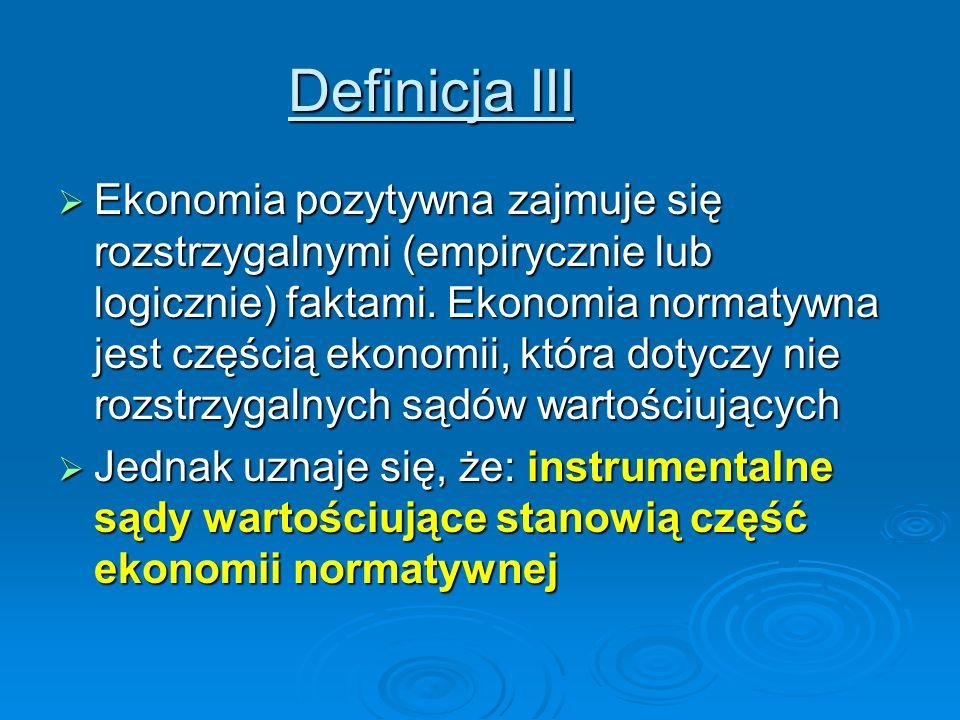 Definicja III