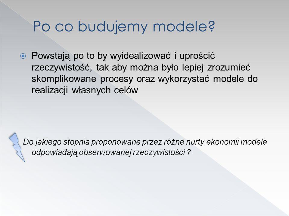 Po co budujemy modele