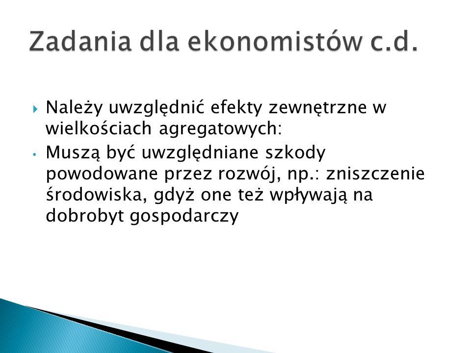 Zadania dla ekonomistów c.d.