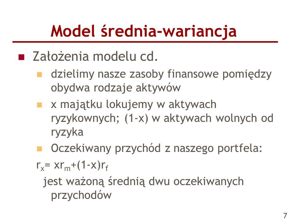 Model średnia-wariancja