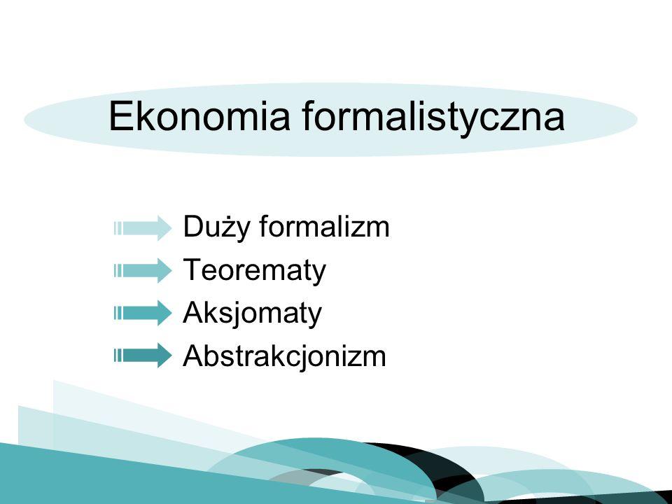 Ekonomia formalistyczna