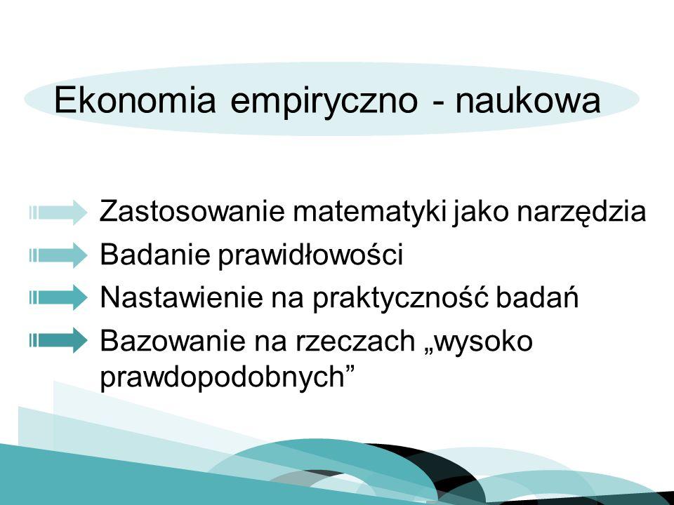 Ekonomia empiryczno - naukowa
