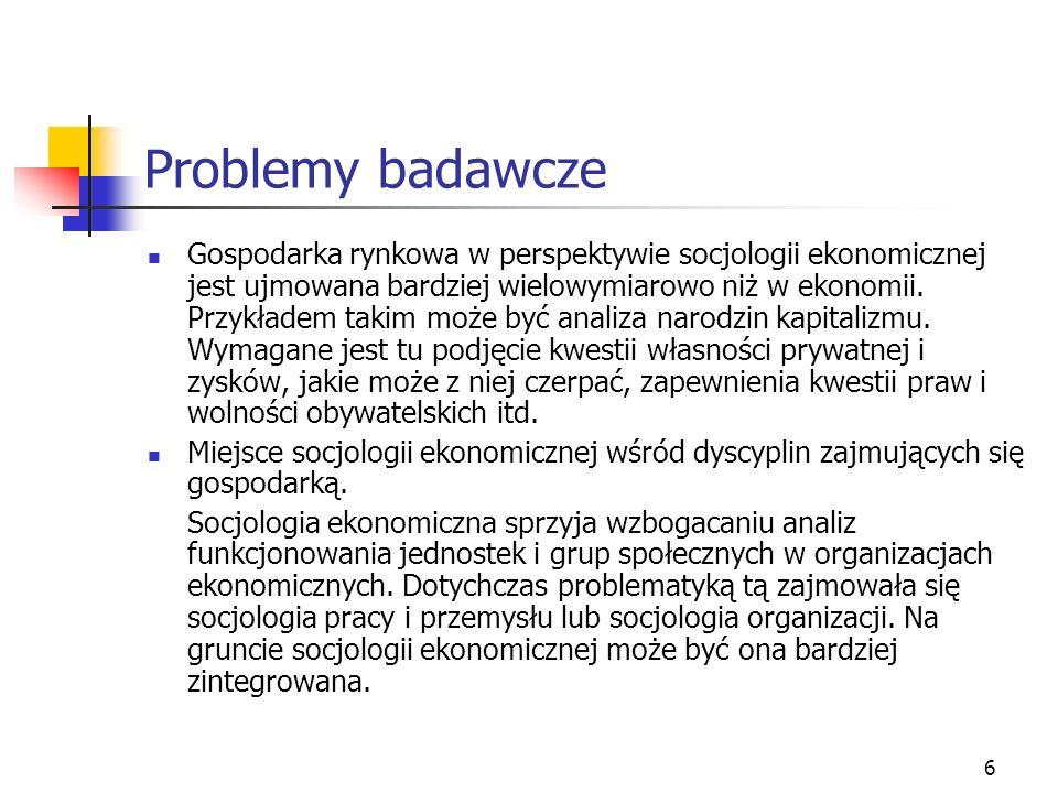Problemy badawcze