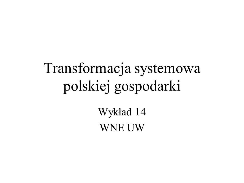 Transformacja systemowa polskiej gospodarki
