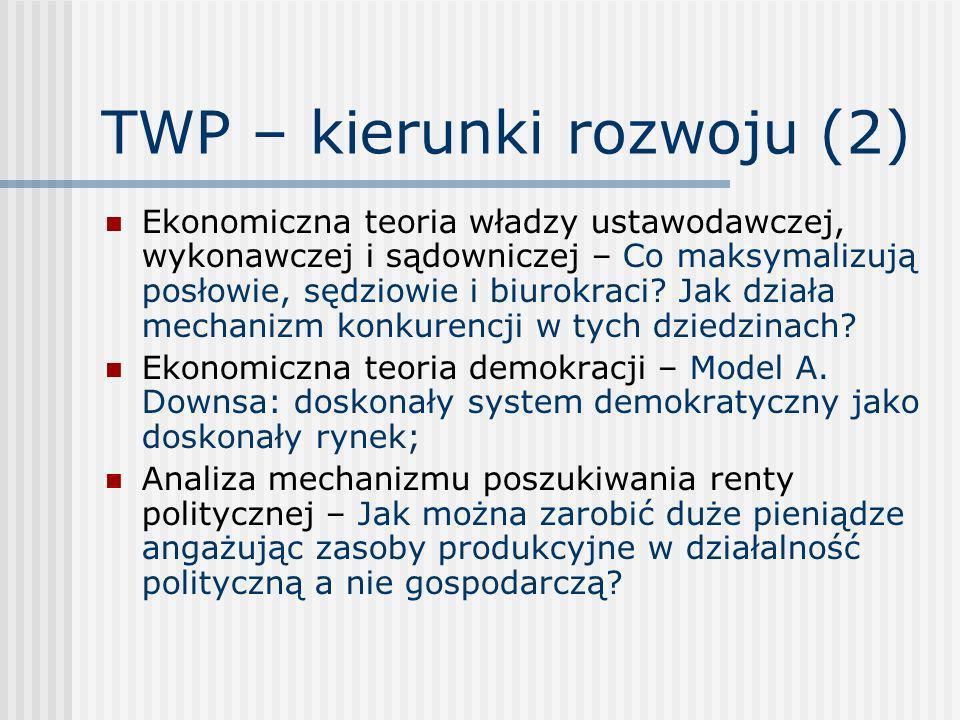 TWP – kierunki rozwoju (2)
