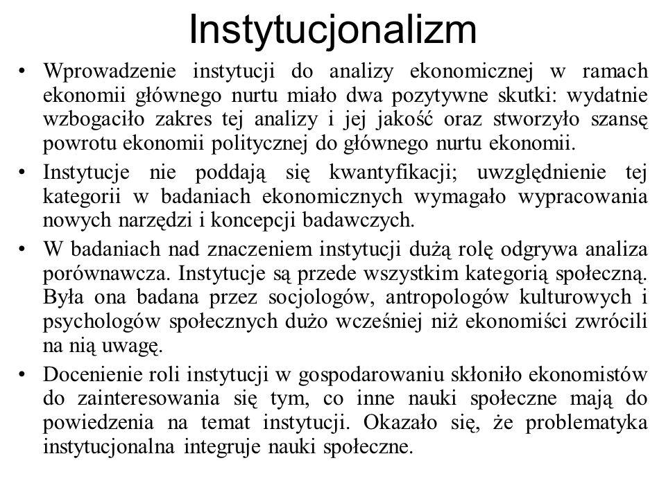 Instytucjonalizm