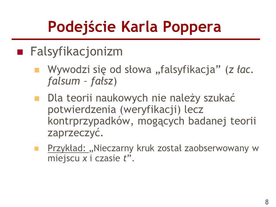 Podejście Karla Poppera