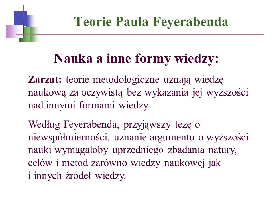 Teorie Paula Feyerabenda