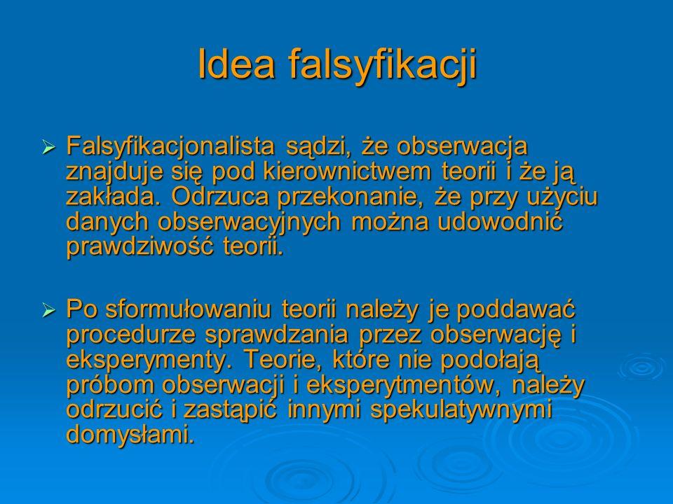 Idea falsyfikacji