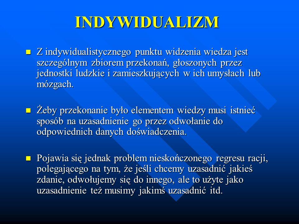 INDYWIDUALIZM