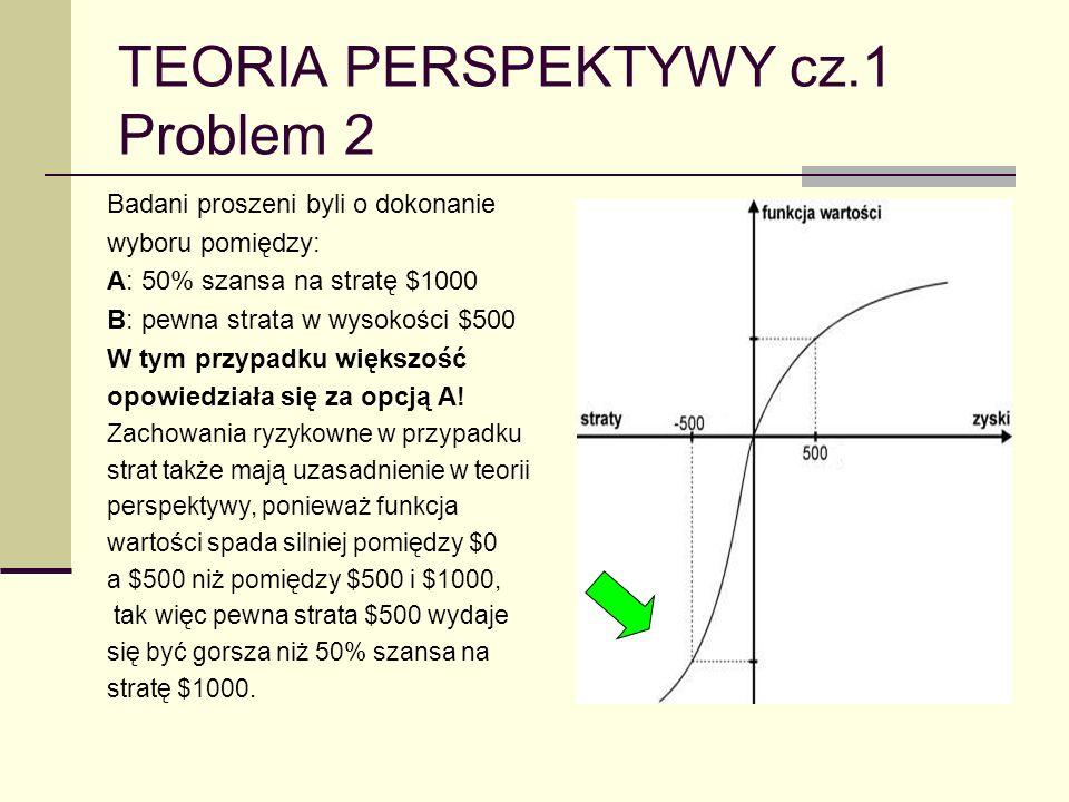 TEORIA PERSPEKTYWY cz.1 Problem 2