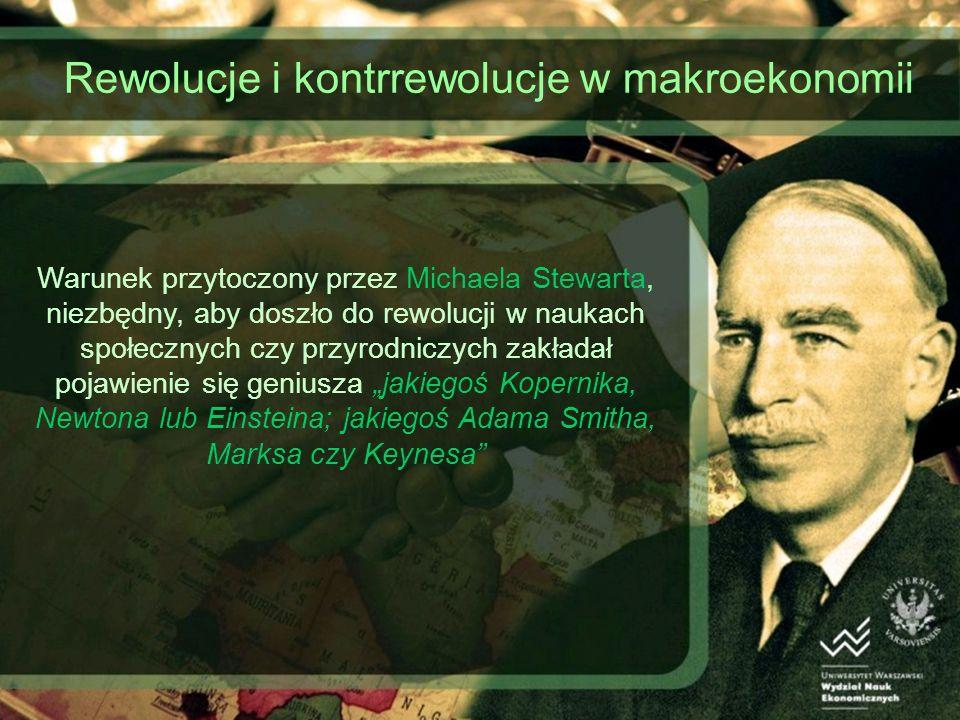 Rewolucje i kontrrewolucje w makroekonomii