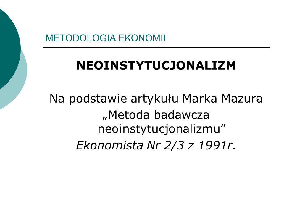 Na podstawie artykułu Marka Mazura
