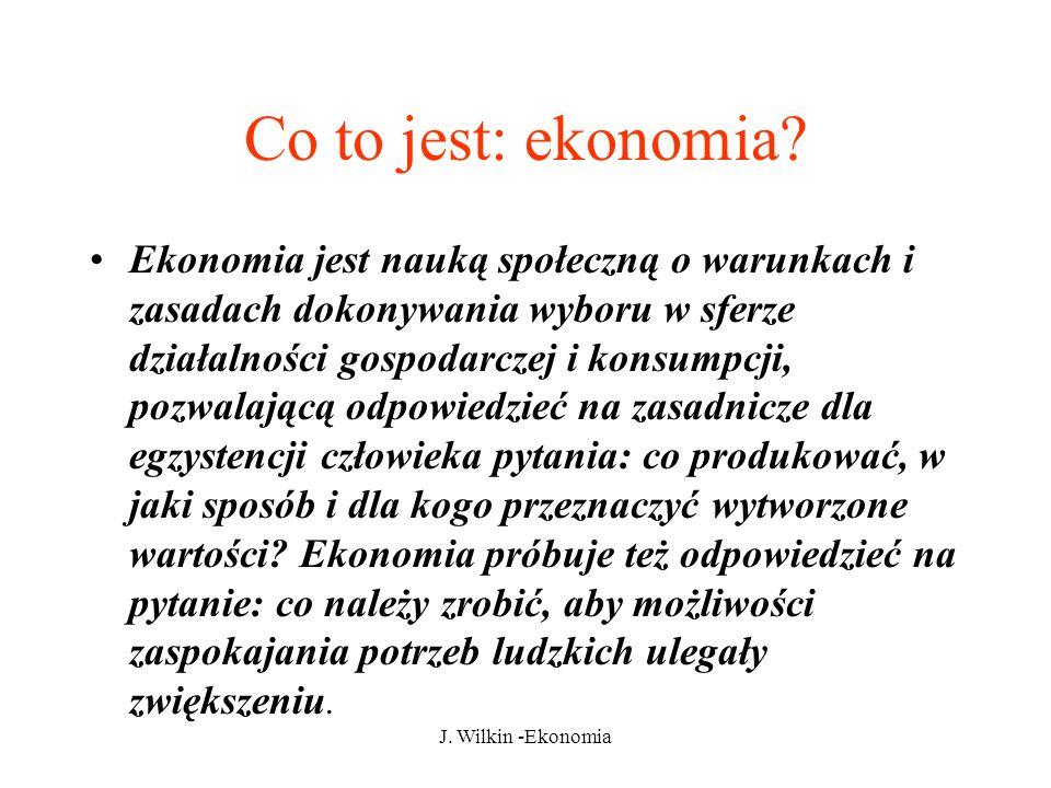 Co to jest: ekonomia