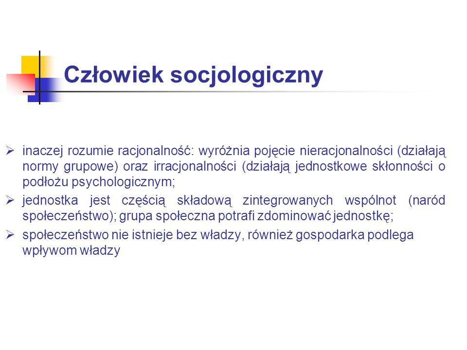 Człowiek socjologiczny
