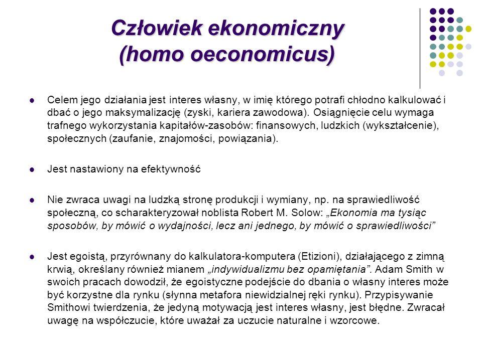Człowiek ekonomiczny (homo oeconomicus)