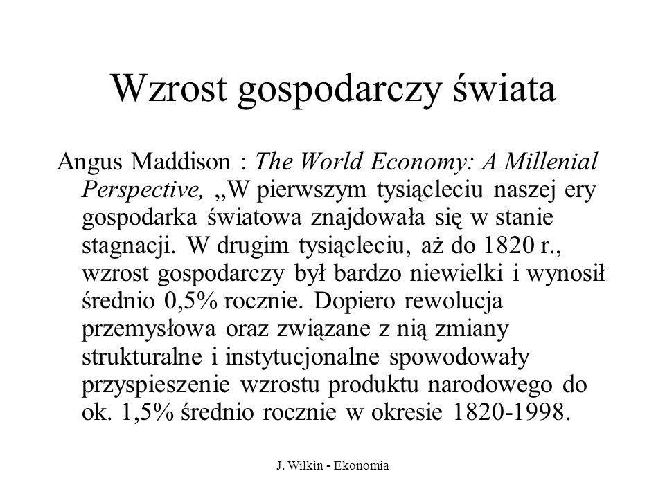 Wzrost gospodarczy świata