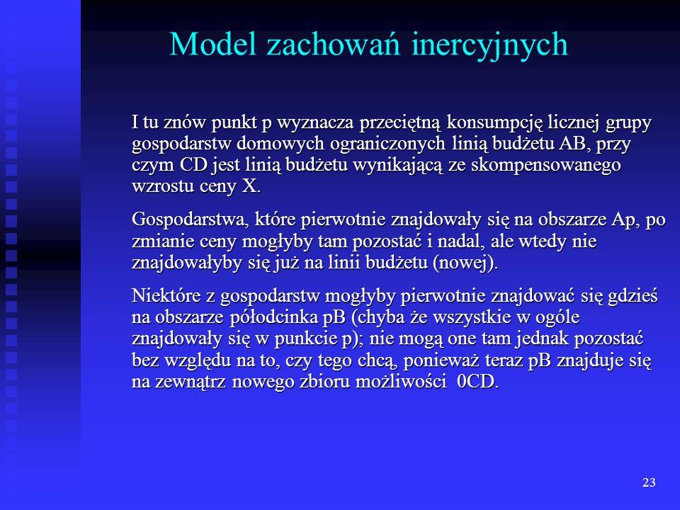Model zachowań inercyjnych
