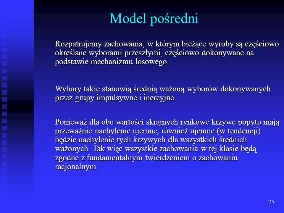 Model pośredni