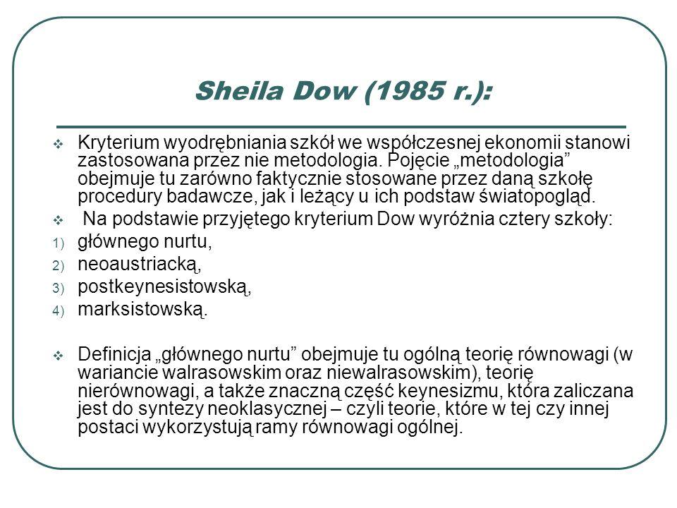 Sheila Dow (1985 r.):