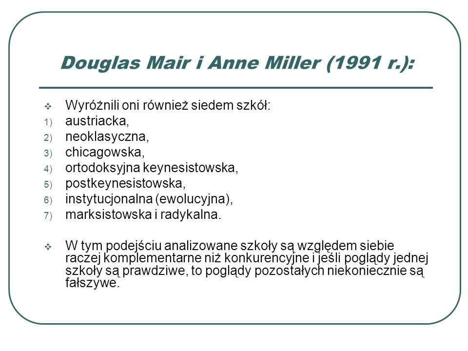 Douglas Mair i Anne Miller (1991 r.):