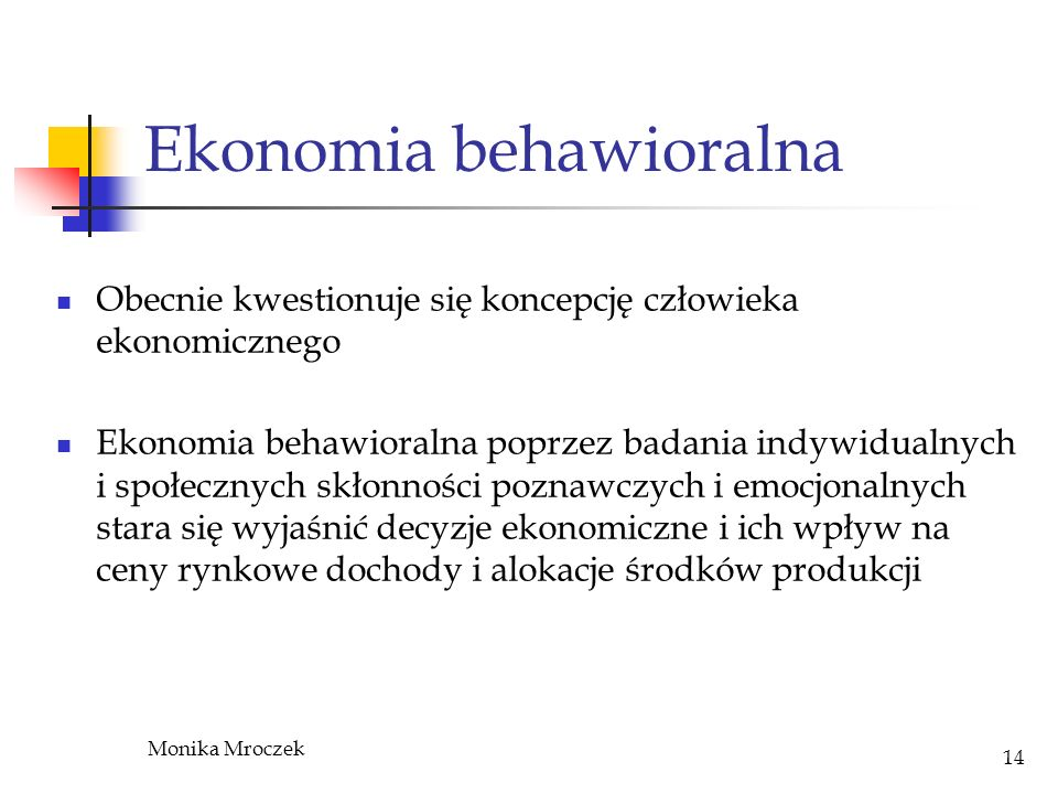 Ekonomia behawioralna