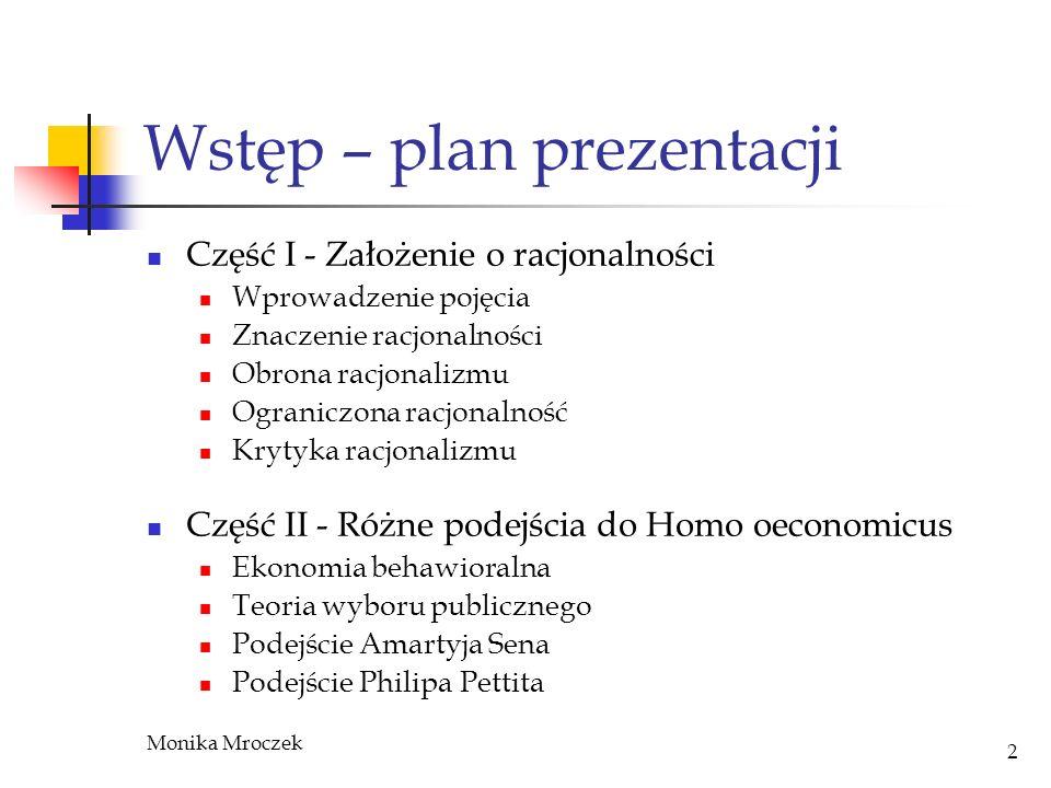 Wstęp – plan prezentacji