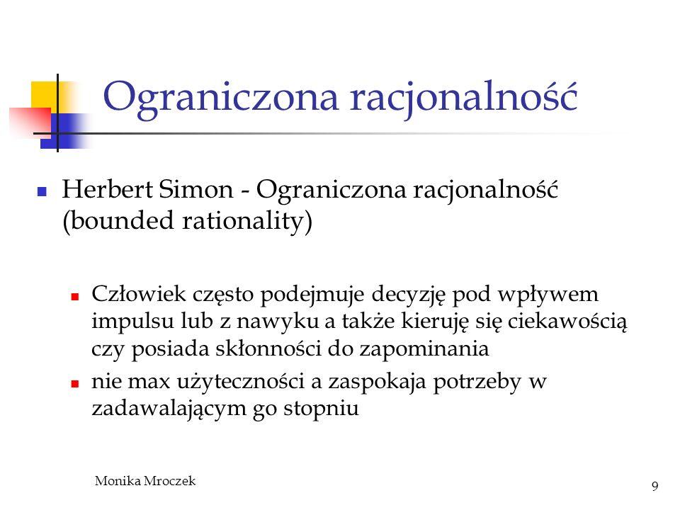 Ograniczona racjonalność