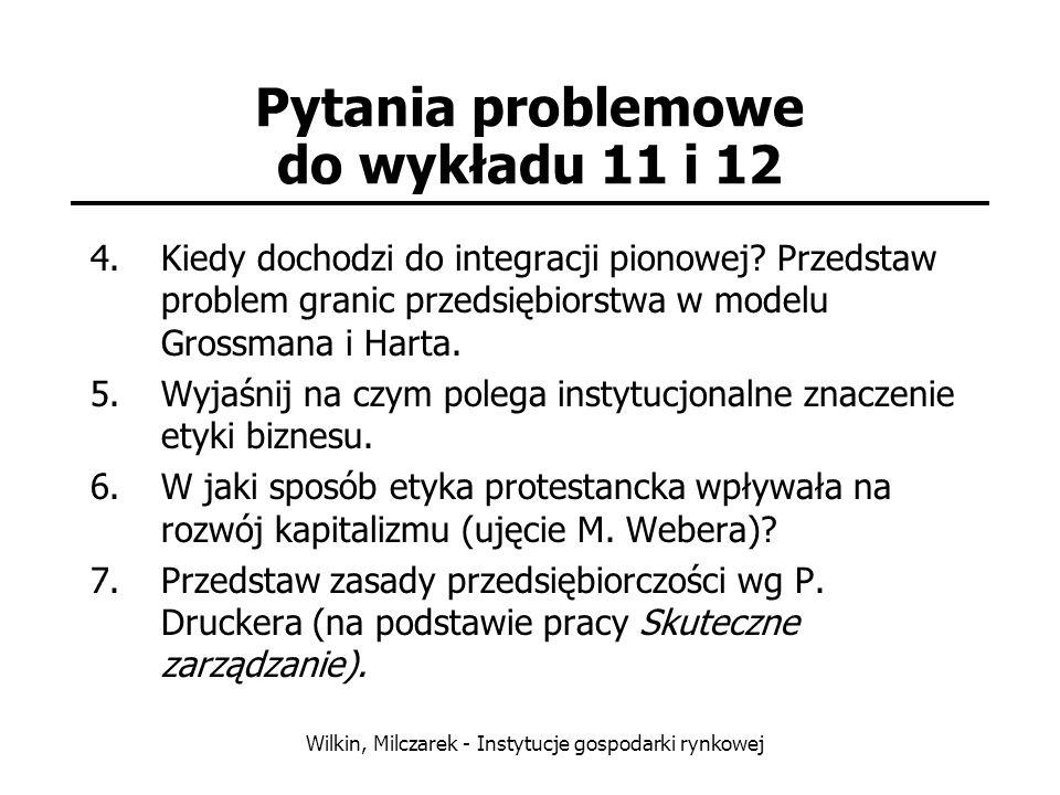 Pytania problemowe do wykładu 11 i 12