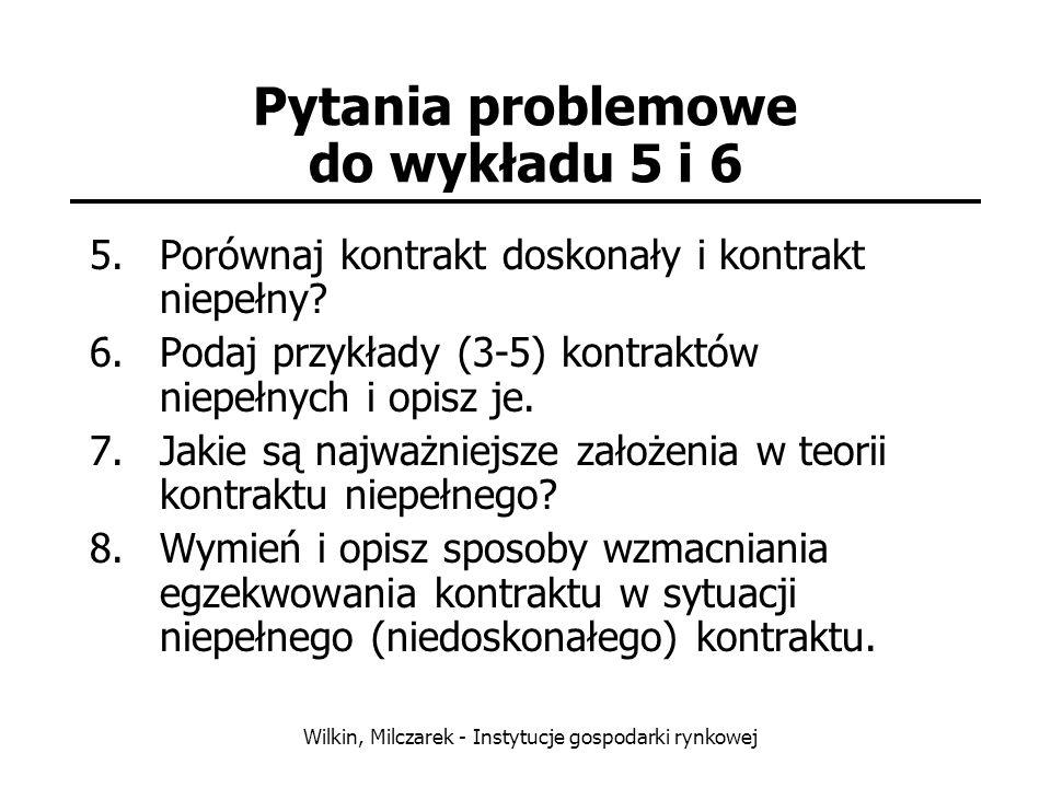 Pytania problemowe do wykładu 5 i 6