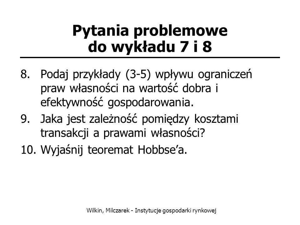Pytania problemowe do wykładu 7 i 8