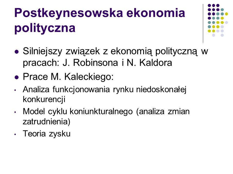 Postkeynesowska ekonomia polityczna