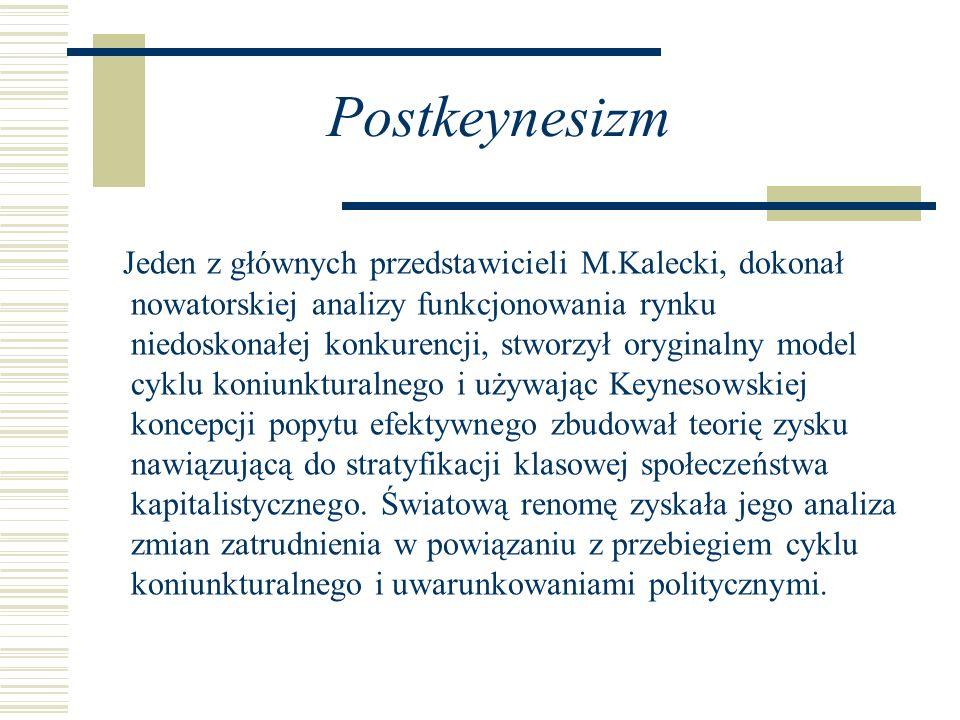Postkeynesizm