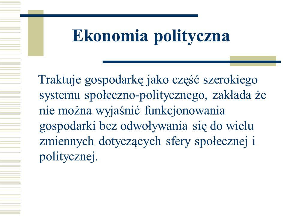 Ekonomia polityczna
